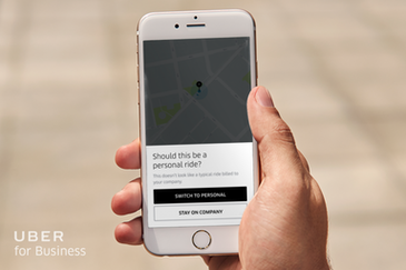 Uber uses machine learning for business and personal rides
