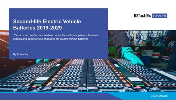 Second-life Electric Vehicle Batteries 2019-2029