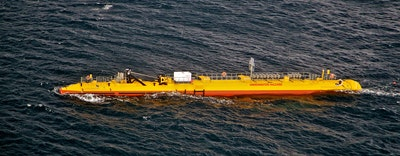 Tidal turbine shows phenomenal performance