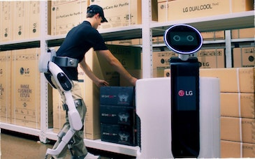LG's first human-centric robot designed for industry and healthcare