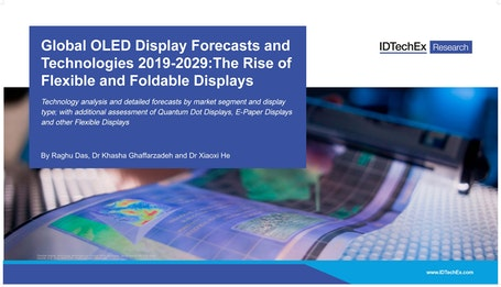 Global OLED Display Forecasts and Technologies 2019-2029: The Rise of Flexible and Foldable Displays