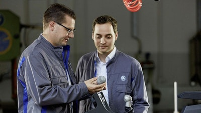 Volkswagen uses 3D printing for mass production