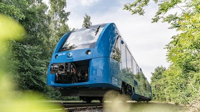 World's first hydrogen fuel cell train