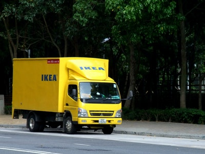 IKEA Group commits to zero emissions targets for home delivery