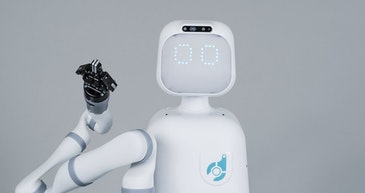 Socially intelligent robot supporting healthcare teams