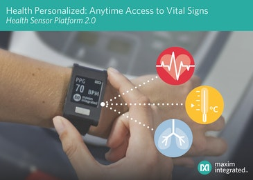 Maxim unveils wrist-worn platform for monitoring ECG, heart rate, temp