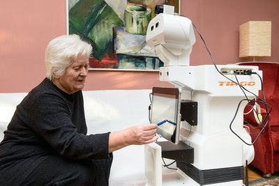 Memory-jogging robot to keep people sharp in 'smart' retirement homes