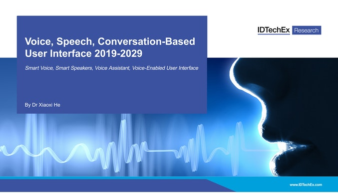 Voice, Speech, Conversation-Based User Interface 2019-2029: Technology, Player, Market