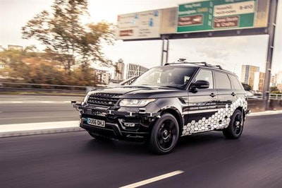 Range Rover Sport self-drives Coventry Ring Road