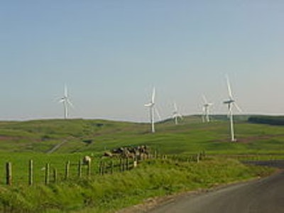 Scottish Power shifts to wind power
