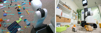 Personal robot to tidy your room