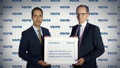 Voith and Siemens join efforts in establishing hybrid power concepts
