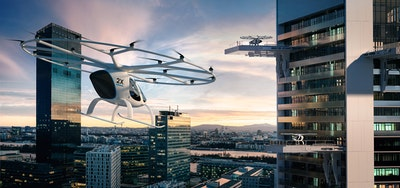 Volocopter to test eVTOL air taxis in Singapore