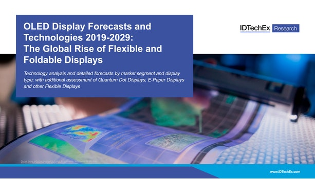 OLED Display Forecasts and Technologies 2019-2029: The Global Rise of Flexible and Foldable Displays