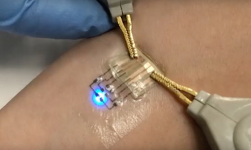 Electronic tattoos for wearable computing