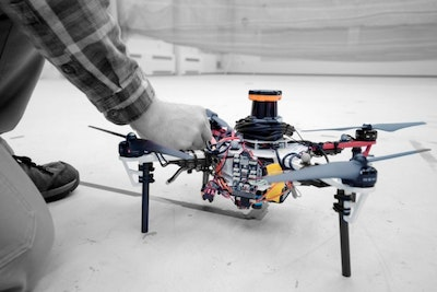 Fleets of drones could aid searches for lost hikers