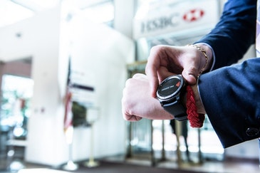 HSBC Bank and Samsung launch wearable technology