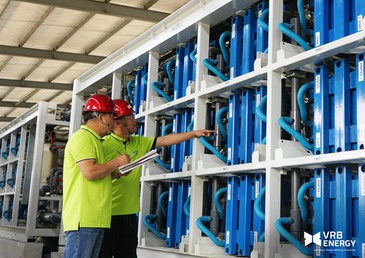 China's biggest flow battery project underway