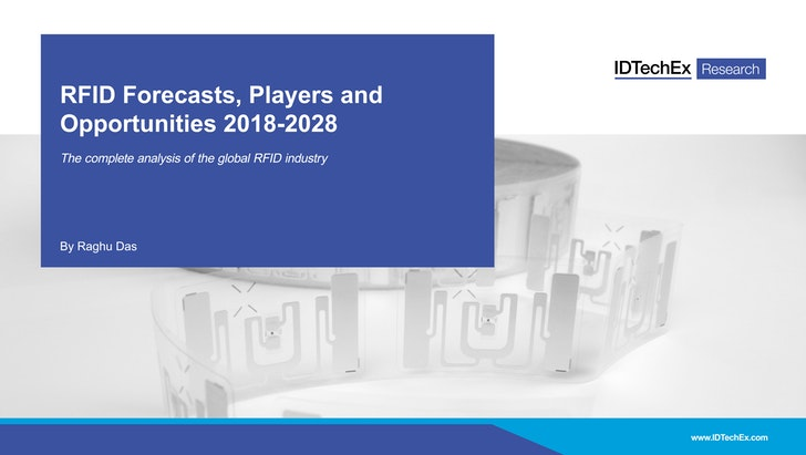 RFID Forecasts, Players and Opportunities 2018-2028