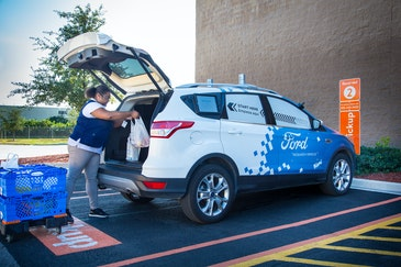 Walmart and Ford test grocery delivery with self driving cars