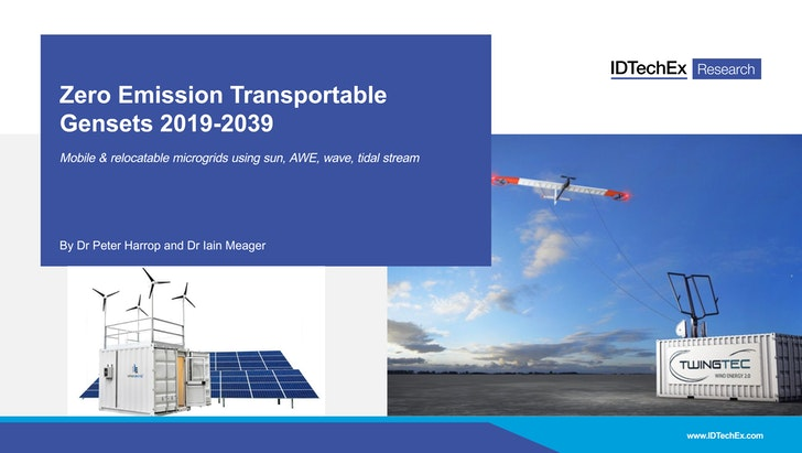 Zero Emission Transportable Gensets 2019-2039