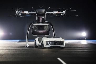 奥迪,空客和Italdesign测试飞行出租车的概念