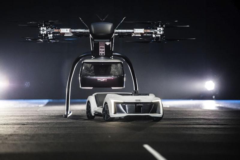 奥迪,空中客车和ITALLATE测试飞行出租车概念