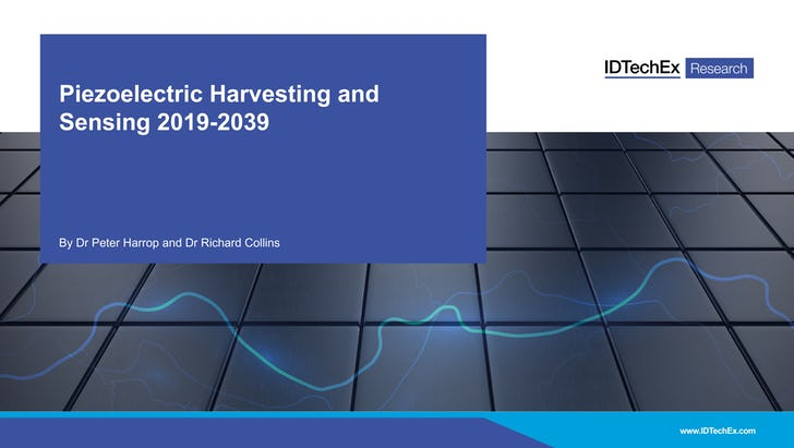 Piezoelectric Harvesting and Sensing 2019-2039