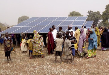 £100 million for renewable energy projects in Africa