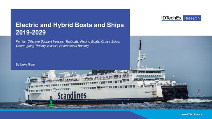 Electric and Hybrid Boats and Ships 2019-2029