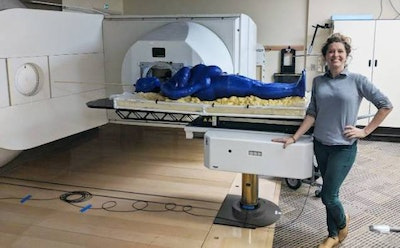 First full human 3D printed for radiation therapy research