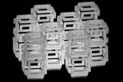 Method to shrink objects to the nanoscale