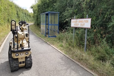 British Army receives pioneering bomb disposal robots