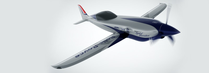 Rolls Royce aiming for world's fastest electric airplane