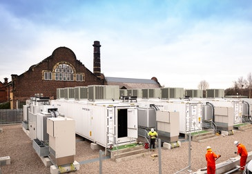 Ørsted's first stand-alone battery storage project now complete