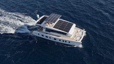 First solar powered yacht in Asia