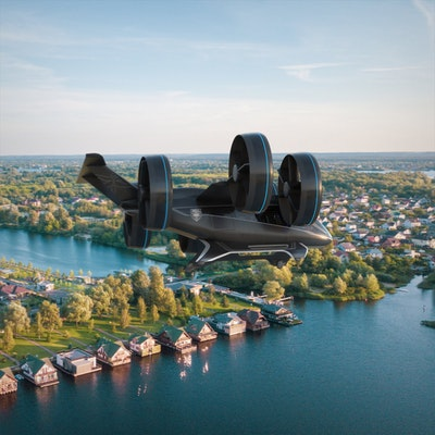 Bell unveils full scale design of air taxi