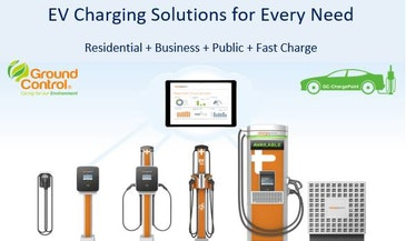 Ground Control offer new lease hire option with partner ChargePoint