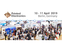 Printed Electronics Europe 2019 - Covering All The Applications