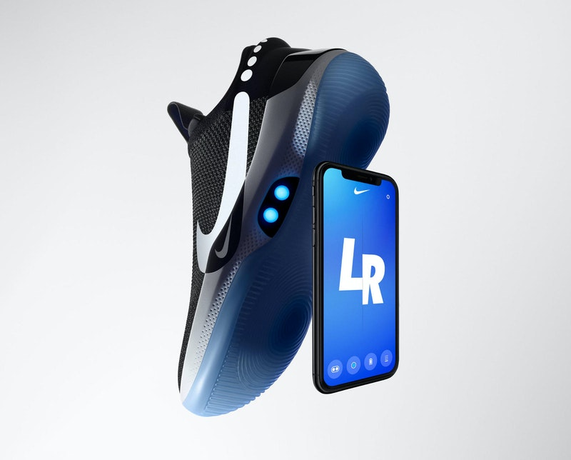 New smart shoes from Nike