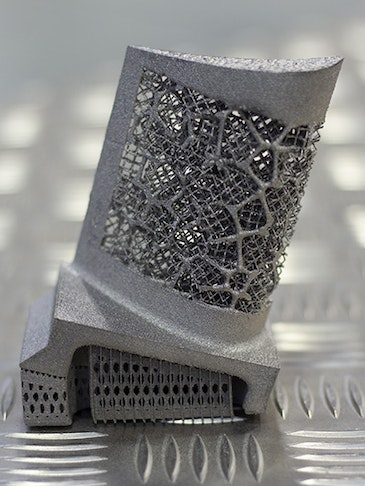 Novel approach to 3D printing engineering components