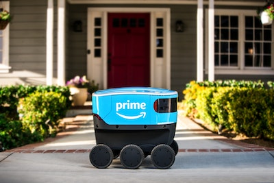 Amazon tests Scout delivery system