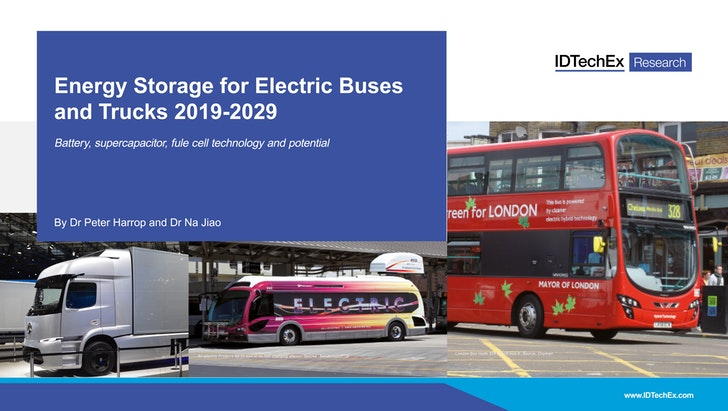 Energy Storage for Electric Buses and Trucks 2019-2029