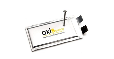 Lithium-sulfur battery specialist Oxis Energy announces new investors