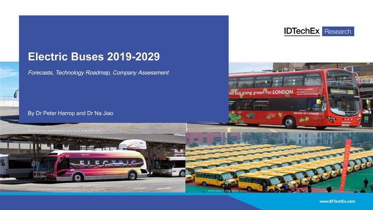 Electric Buses 2019-2029: IDTechEx