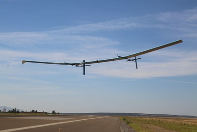 Innovative solar powered, High Altitude Pseudo Satellite