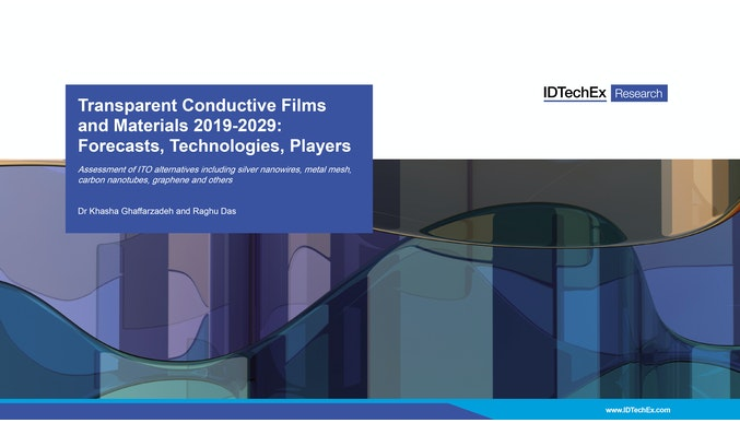 Transparent Conductive Films and Materials 2019-2029: Forecasts, Technologies, Players