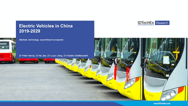 Electric Vehicles in China 2019-2029