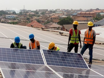 Commissioning of 400KWp Solar Plant in Ghana