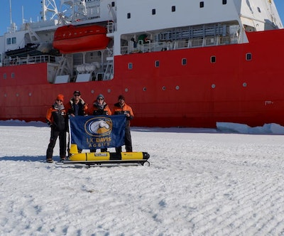 Robotic glider makes first turbulence measurements beneath Antarctic